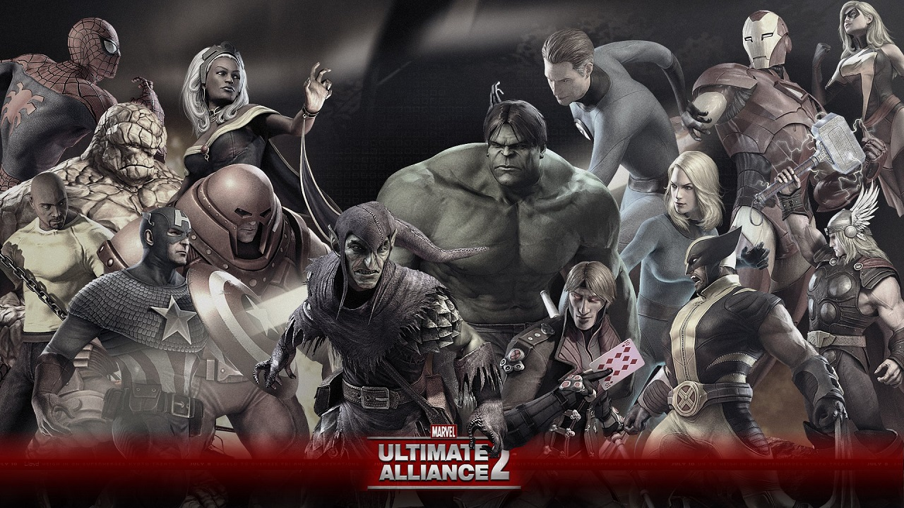 Marvel Ultimate Alliance 2-1