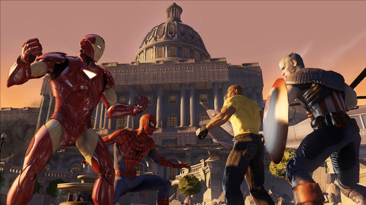 Marvel Ultimate Alliance 2-3