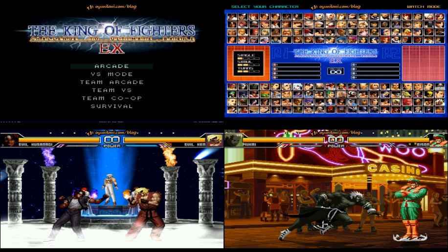 The King of Fighters EX-OG