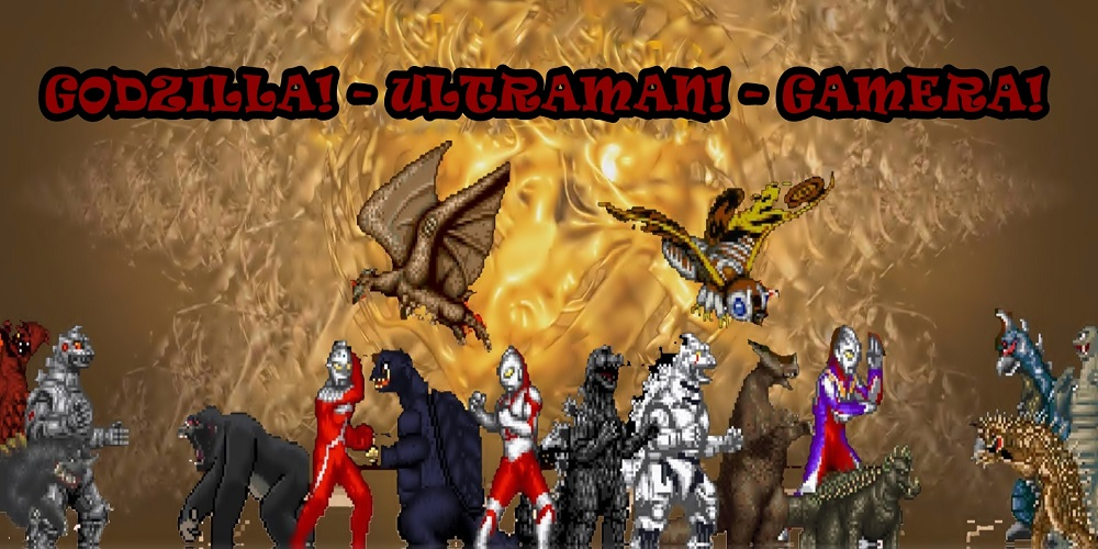 Godzilla – Ultraman – Gamera: All Monsters Attack! / OPENBOR