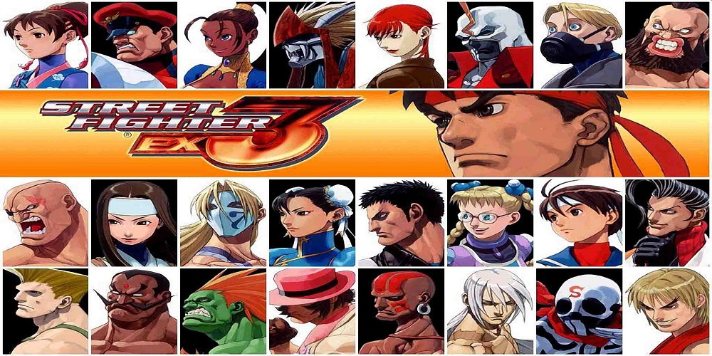 Street Fighter EX3 / PS2