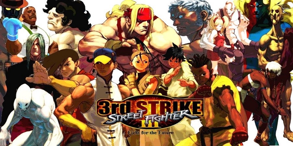 Street Fighter III 3rd Strike: Fight for the Future [HACK] / ARCADE
