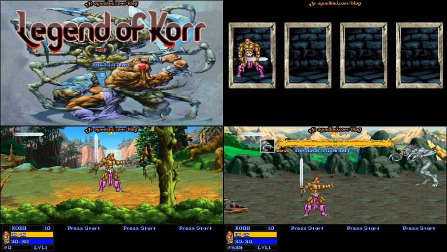 Legend of Korr-Openbor-OG - Oyun İlani Blog