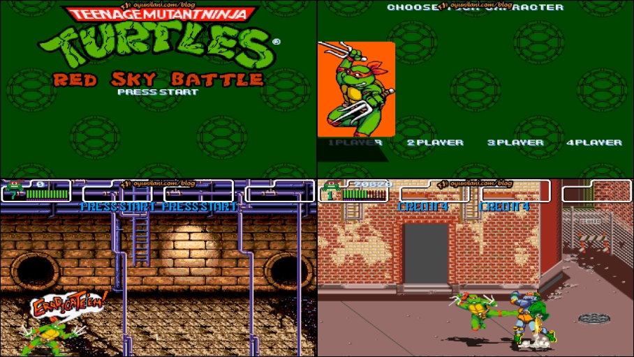 Teenage Mutant Ninja Turtles: Red Sky Battle / OPENBOR
