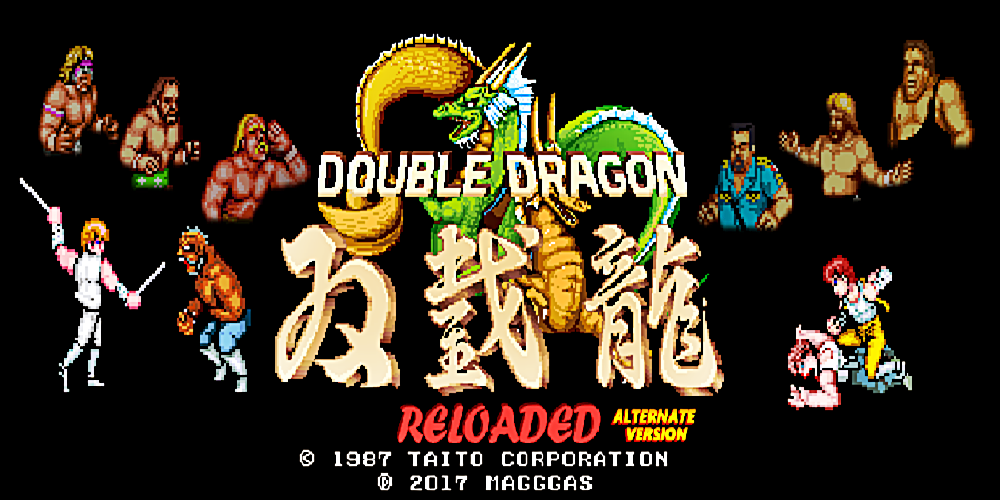 Double Dragon Reloaded Alternate v3.2: WWF Superstars / OPENBOR
