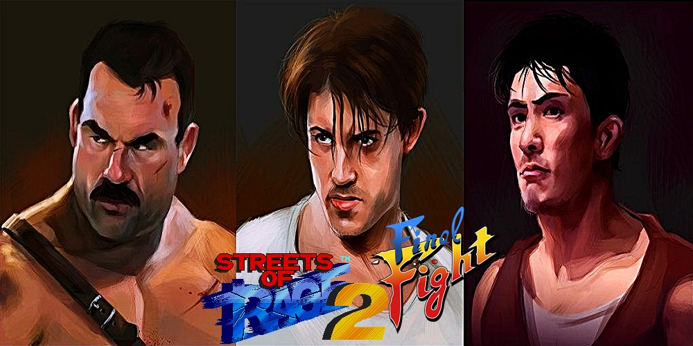 Streets of Rage 2 – Final Fight Crossover [HACK] / Sega Genesis