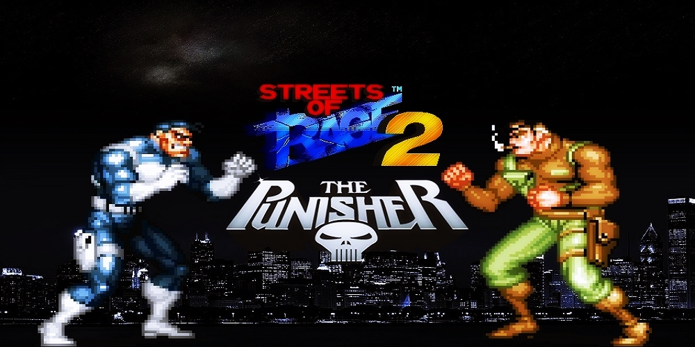 The Punisher in the Streets of Rage [HACK] / Sega Genesis
