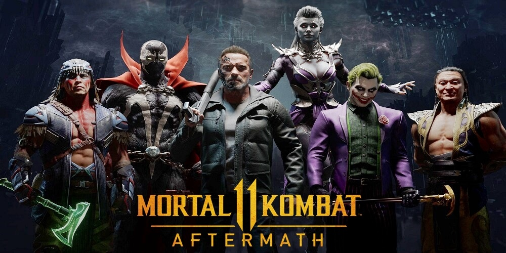 Mortal Kombat 11: Aftermath [MOD] / PSP
