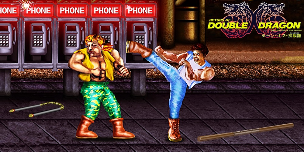 Return of Double Dragon: Unstable Fast [HACK] / SNES