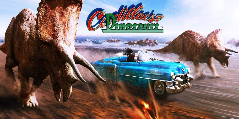 Cadillacs and Dinosaurs: Super Gun [HACK] / ARCADE