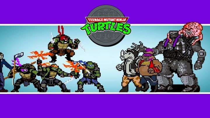 TMNT: 8-bit Recolored & Extended / OPENBOR