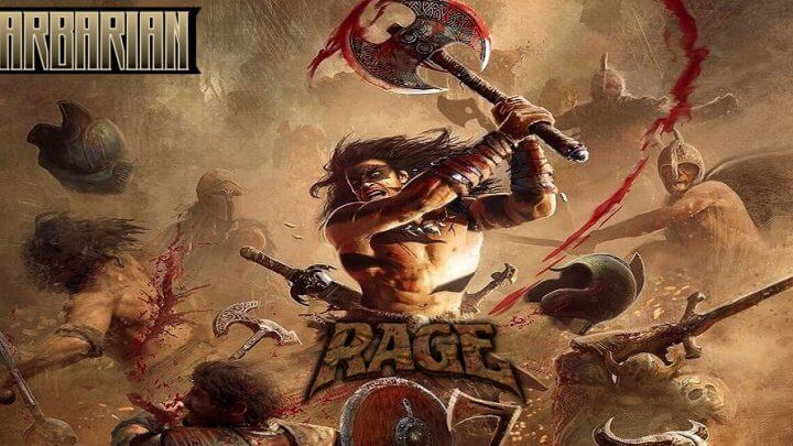 Barbarian + Axe of Rage / OPENBOR